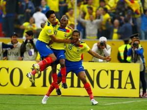 Ecuador ganó 4 a 1 contra la selección de Paraguay en Quito. Fuente de la imagen: peru.com