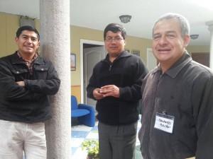 Algunos de los invitados al programa de La Casa Grande y participantes del encuentro de Cáritas.
