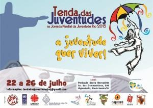 Cáritas Brasileira estar presente en este espacio reunirá a diversas organizaciones con el deseo de fomentar la lucha de los jóvenes por la vida. Por otra parte, la parte del cuerpo de la articulación y la organización de la tienda de campaña.