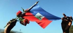 La Bandera de Haití. Fuente de la imagen elecuatoriano.net.