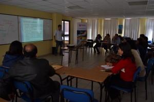 El Dr. Danilo Valdiviezo en el taller Jurídico de Movilidad Humana
