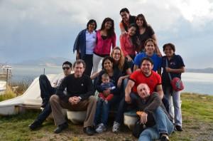 Los participantes en el Encuentro de Bolivia, Ecuador y España comparten momentos fraternos.