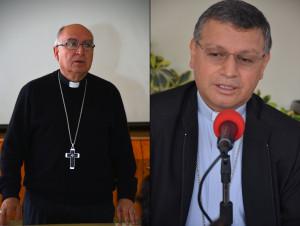 Mons. Julio Parrilla y Mons. Walter Heras